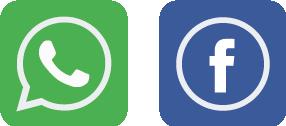 logo whatsapp | facebook